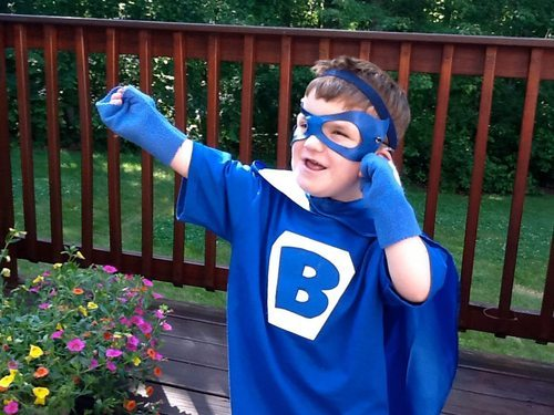Marvel's New Superhero, Blue Ear, Inspired by Hearing Impaired Boy